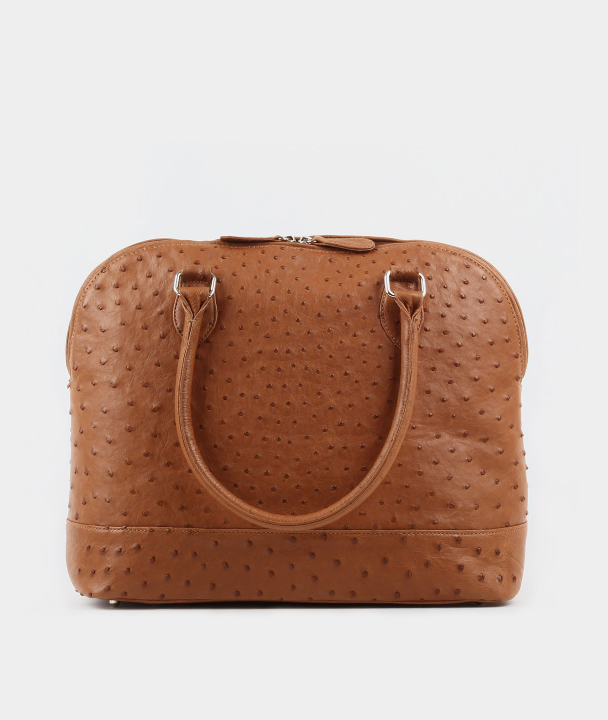 BROWN BOWLER BAG